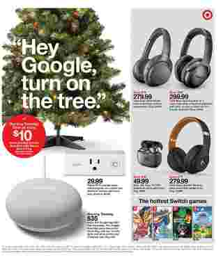 Target - deals are valid from 12/01/19 to 12/07/19 - page 24.