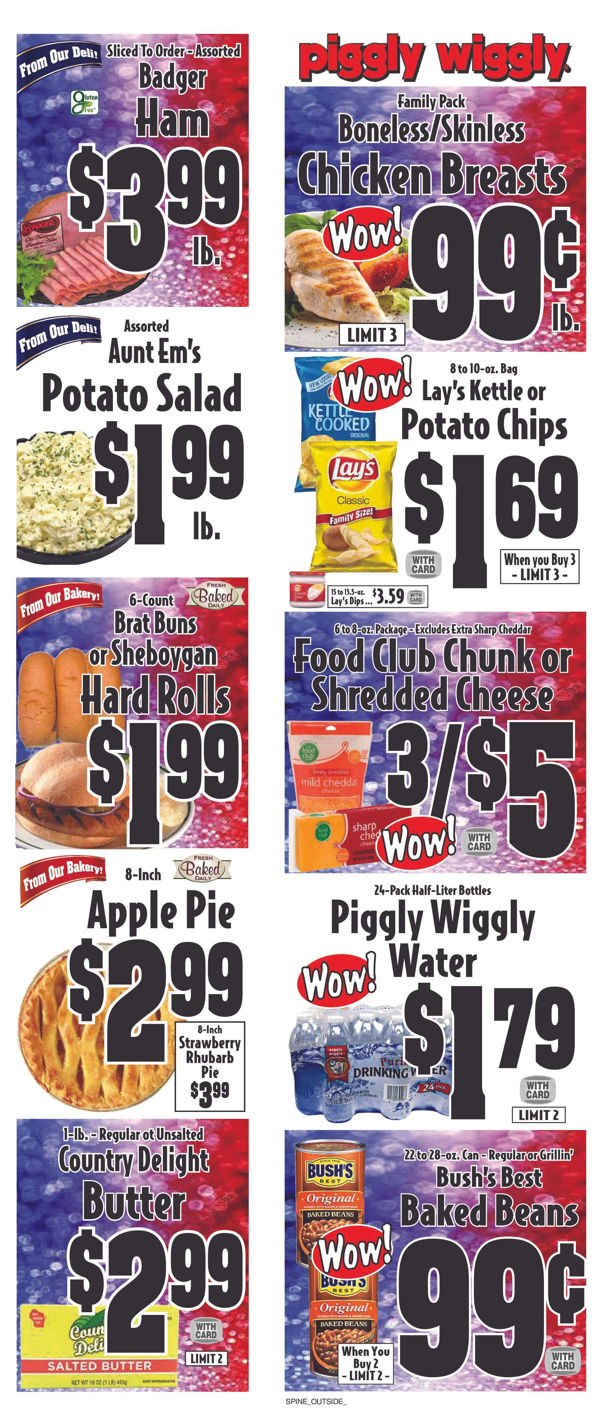Piggly Wiggly - deals are valid from 08/28/19 to 09/03/19 - page 1.