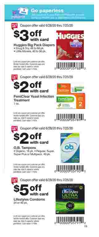 Walgreens - deals are valid from 06/28/20 to 07/25/20 - page 11.