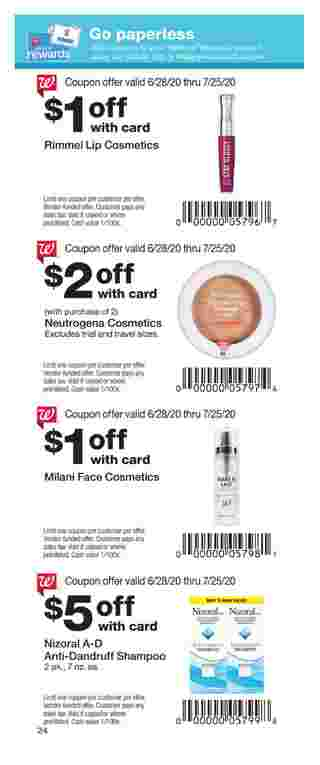Walgreens - deals are valid from 06/28/20 to 07/25/20 - page 17.