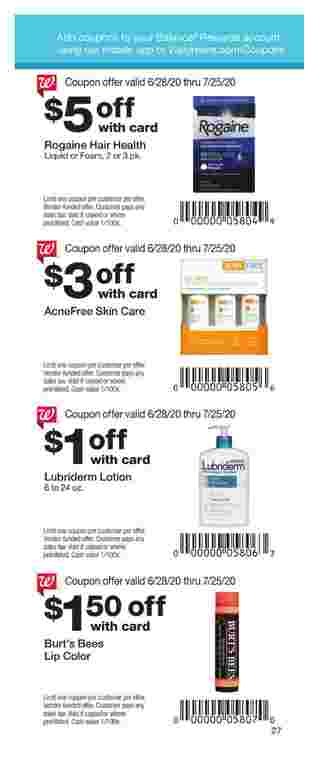 Walgreens - deals are valid from 06/28/20 to 07/25/20 - page 20.