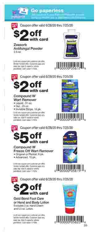 Walgreens - deals are valid from 06/28/20 to 07/25/20 - page 27.