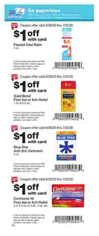Walgreens - deals are valid from 06/28/20 to 07/25/20 - page 28.