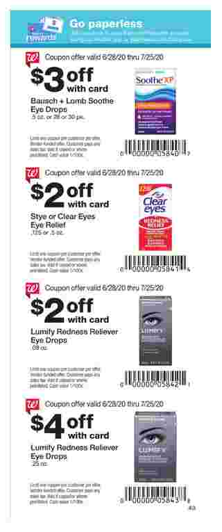 Walgreens - deals are valid from 06/28/20 to 07/25/20 - page 38.