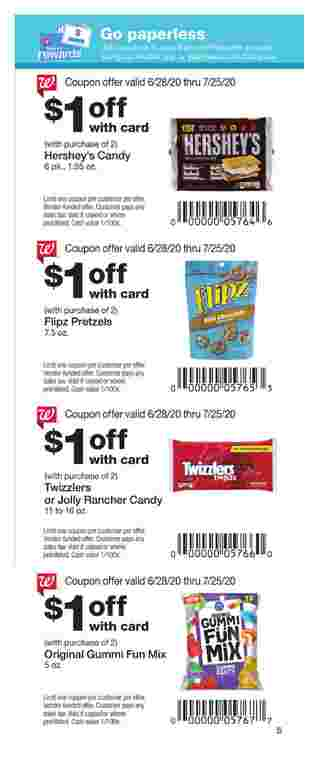 Walgreens - deals are valid from 06/28/20 to 07/25/20 - page 45.