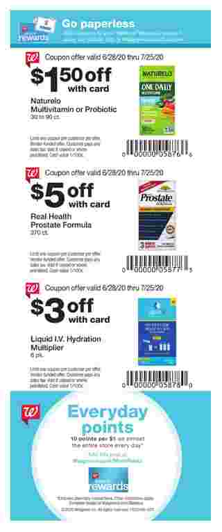 Walgreens - deals are valid from 06/28/20 to 07/25/20 - page 54.