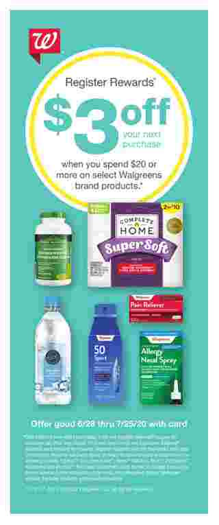 Walgreens - deals are valid from 06/28/20 to 07/25/20 - page 70.