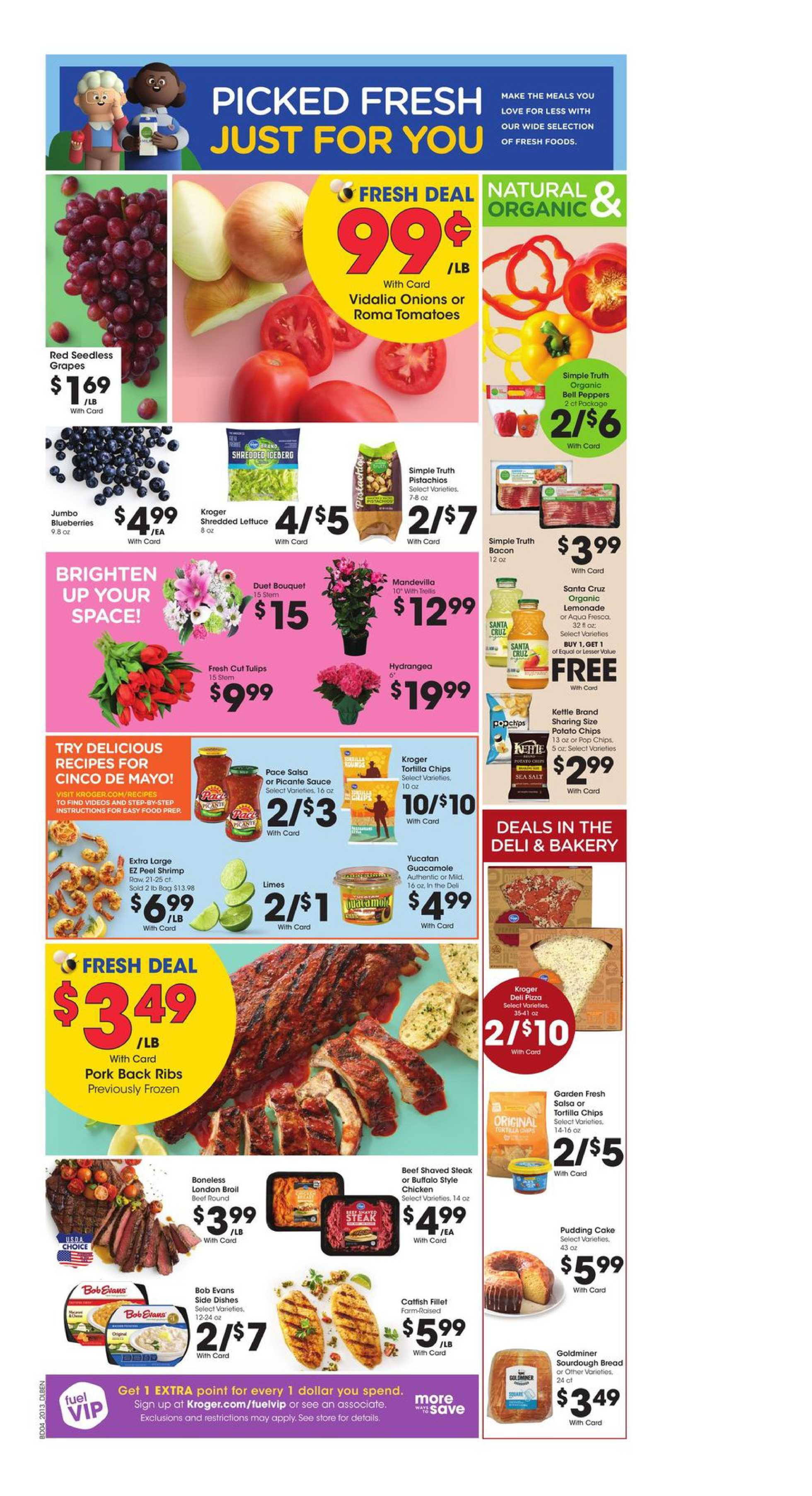 Kroger - deals are valid from 04/29/20 to 05/05/20 - page 4.