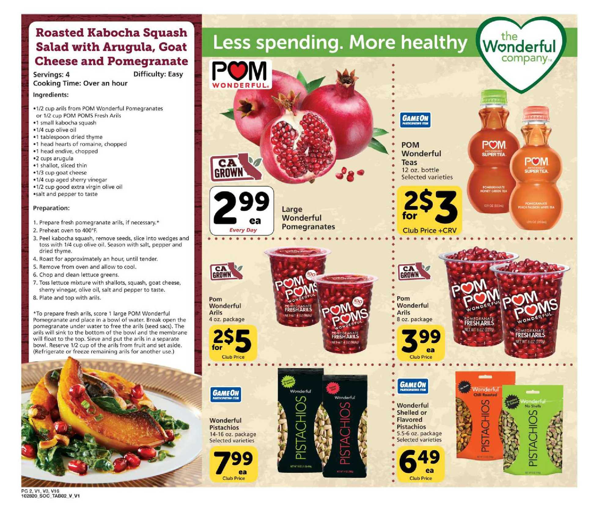 Vons - deals are valid from 11/28/20 to 12/26/20 - page 2.