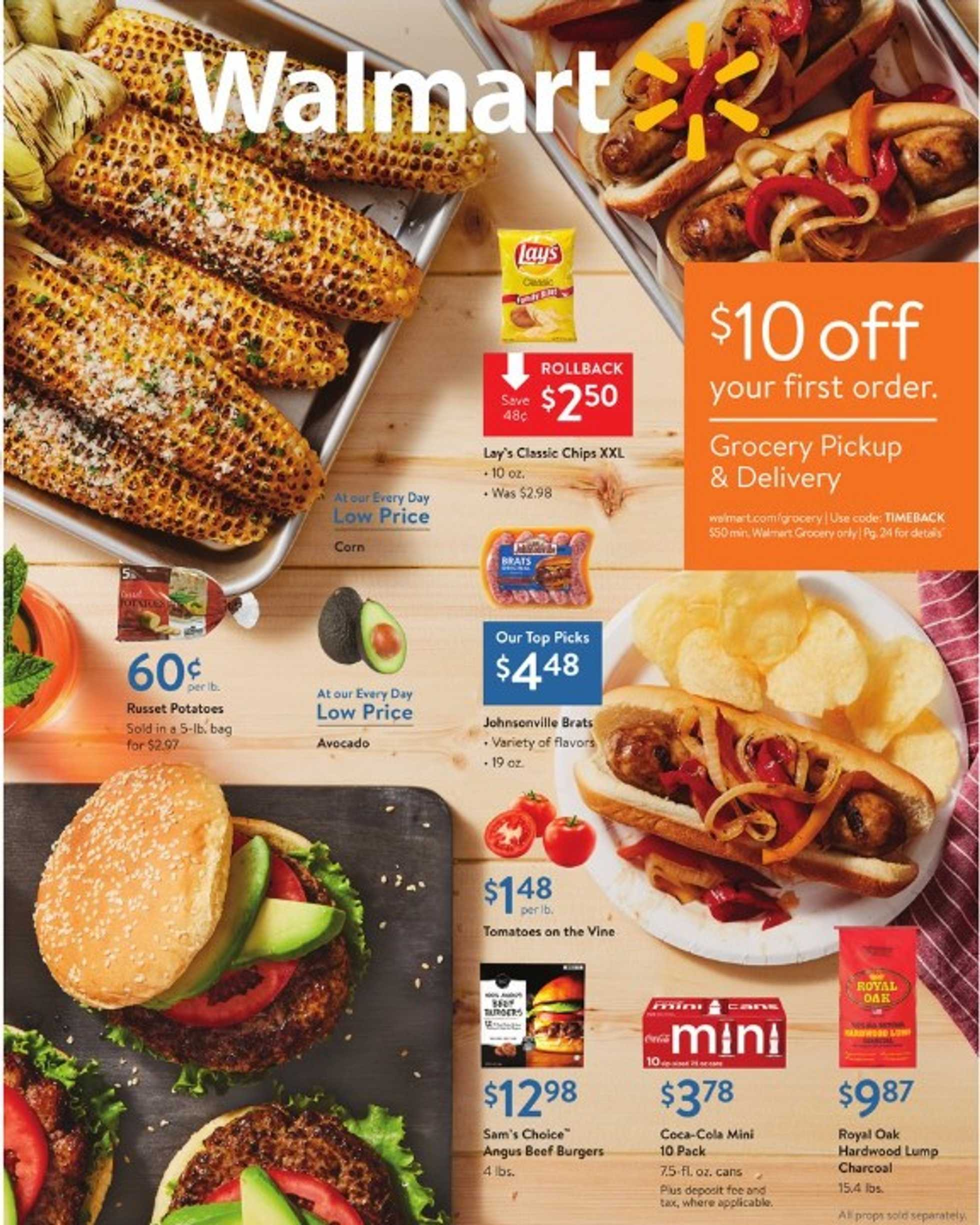 Walmart - deals are valid from 08/30/19 to 09/14/19 - page 1.