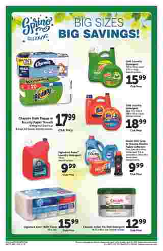 Safeway - deals are valid from 04/03/19 to 04/30/19 - page 16.