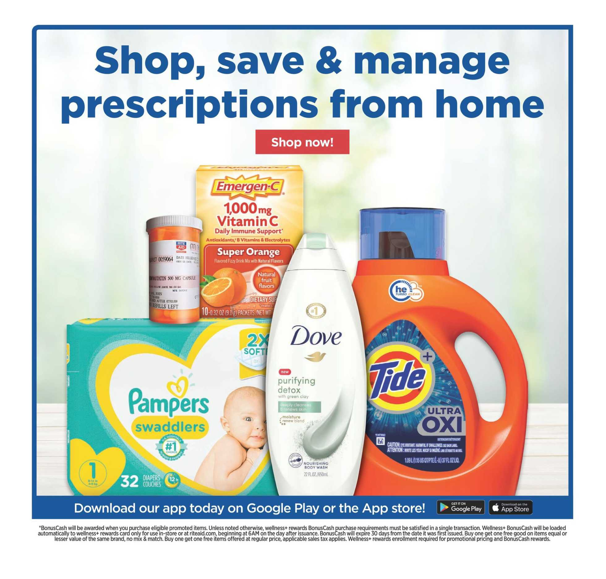 Rite Aid - deals are valid from 03/22/20 to 03/28/20 - page 3.
