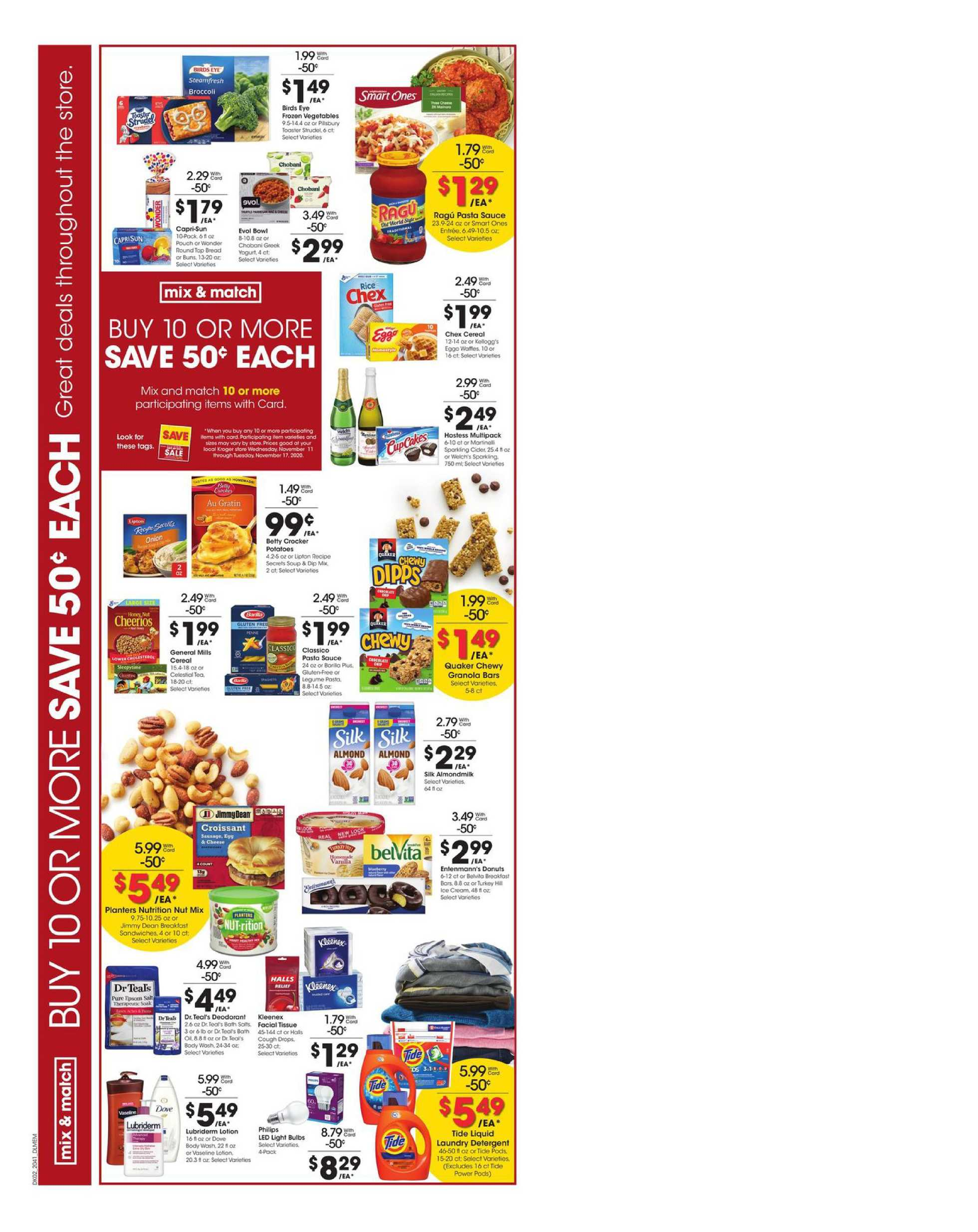 Kroger - deals are valid from 11/11/20 to 11/17/20 - page 3.
