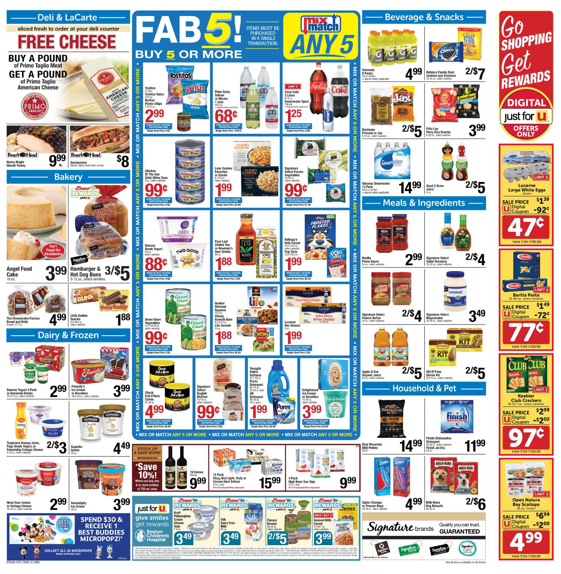 Star Market - deals are valid from 07/24/20 to 07/30/20 - page 2.