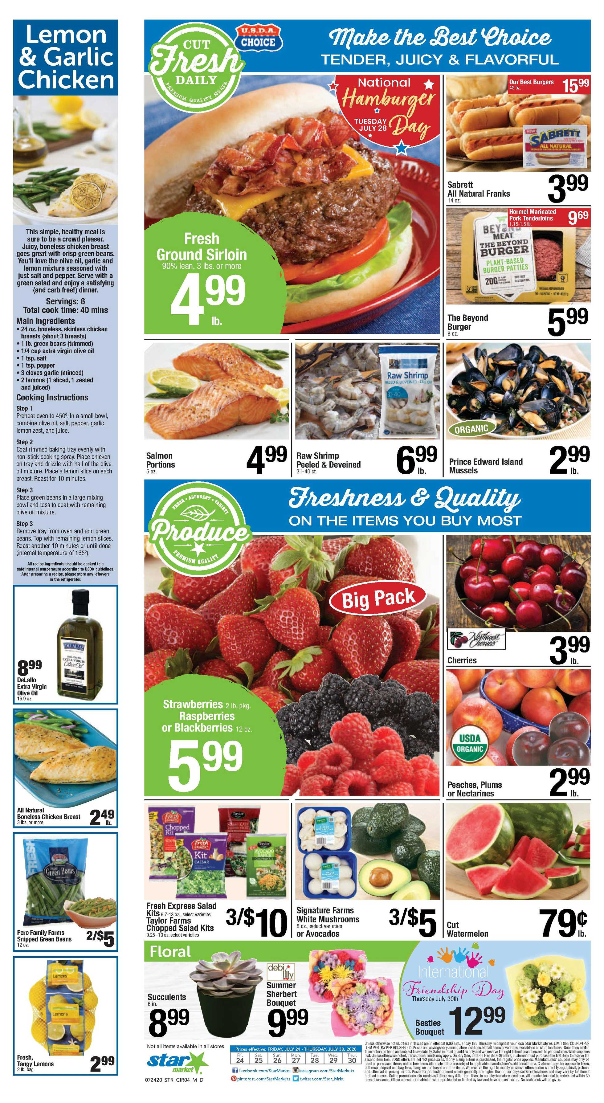 Star Market - deals are valid from 07/24/20 to 07/30/20 - page 3.