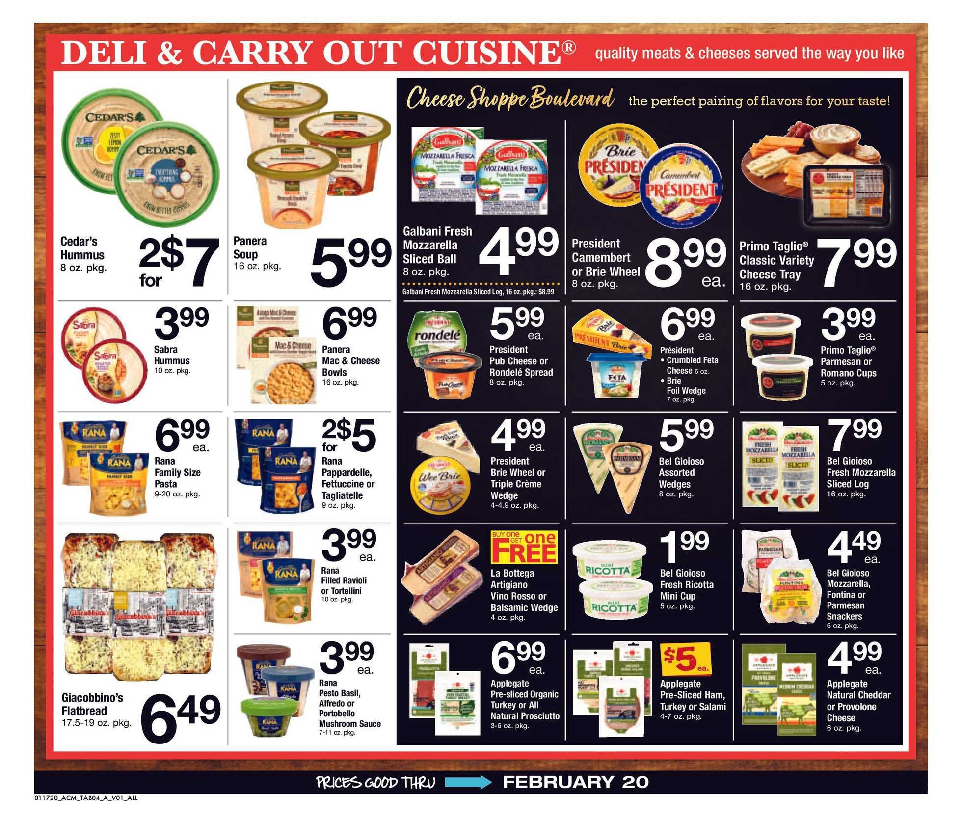 ACME - promo starting from 01/17/20 to 02/20/20 - page 4.