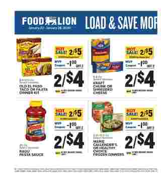 Food Lion - promo starting from 01/22/20 to 01/28/20 - page 10.