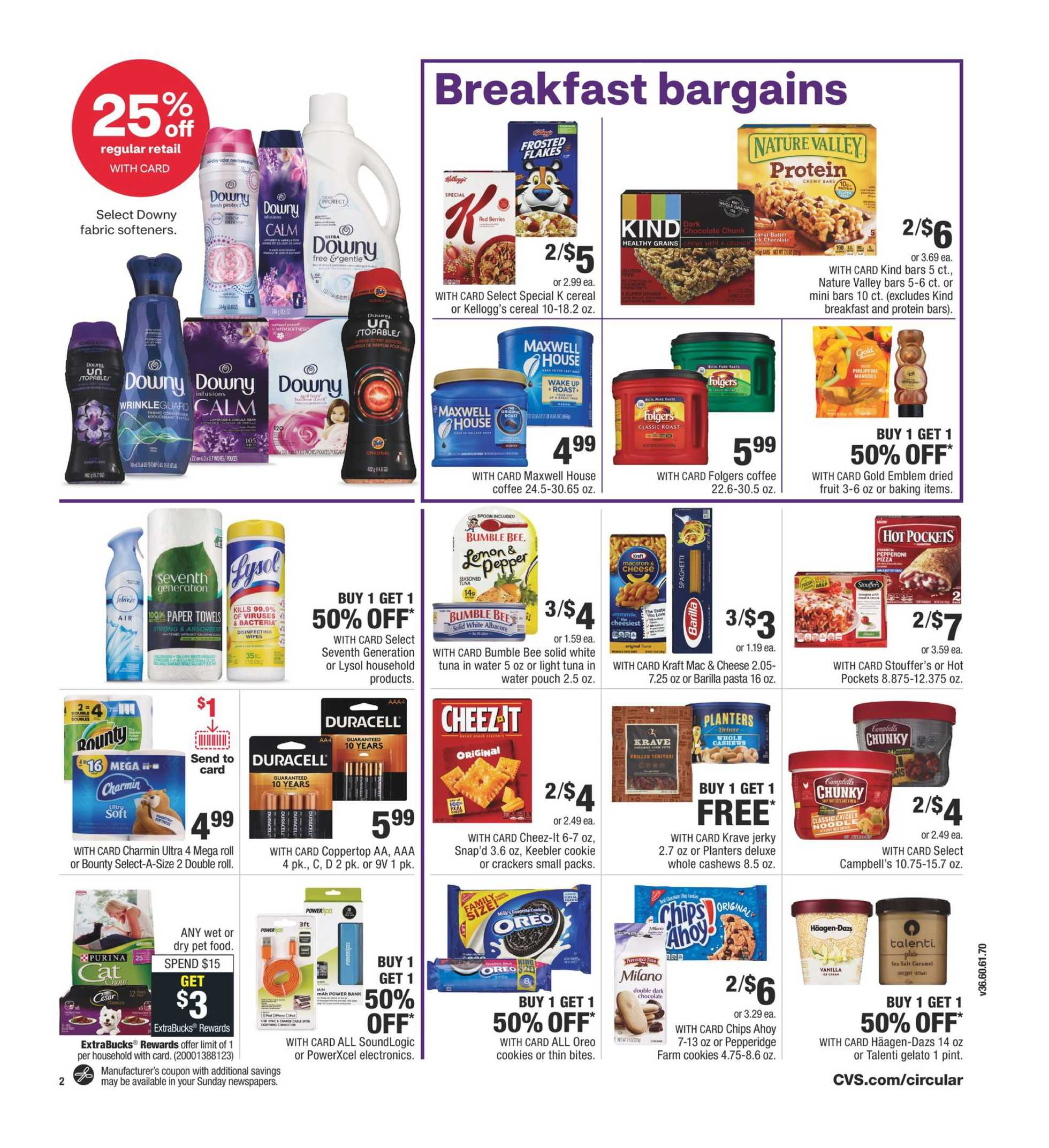 CVS - deals are valid from 03/22/20 to 03/28/20 - page 4.