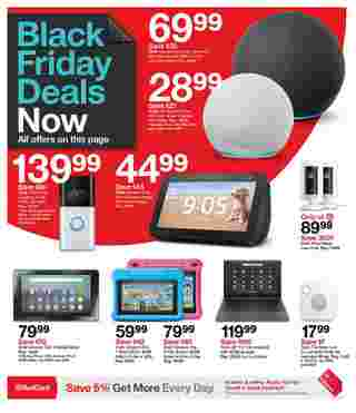 Target - deals are valid from 11/22/20 to 11/28/20 - page 5.