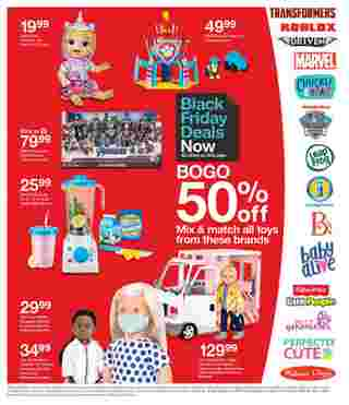 Target - deals are valid from 11/22/20 to 11/28/20 - page 52.