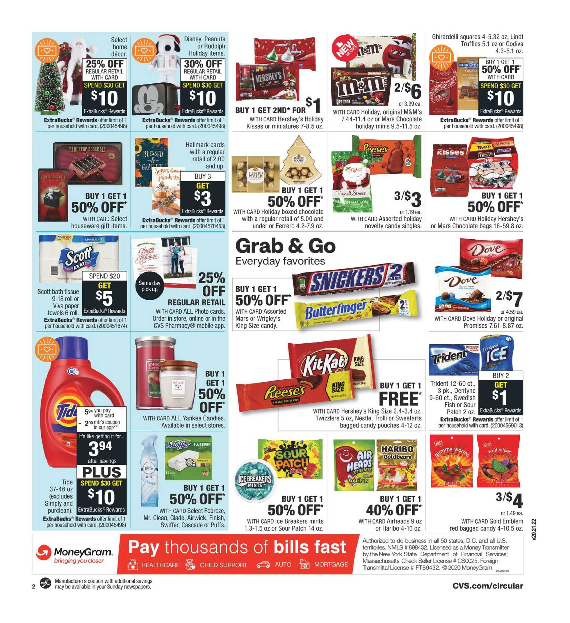 CVS - deals are valid from 11/01/20 to 11/07/20 - page 3.
