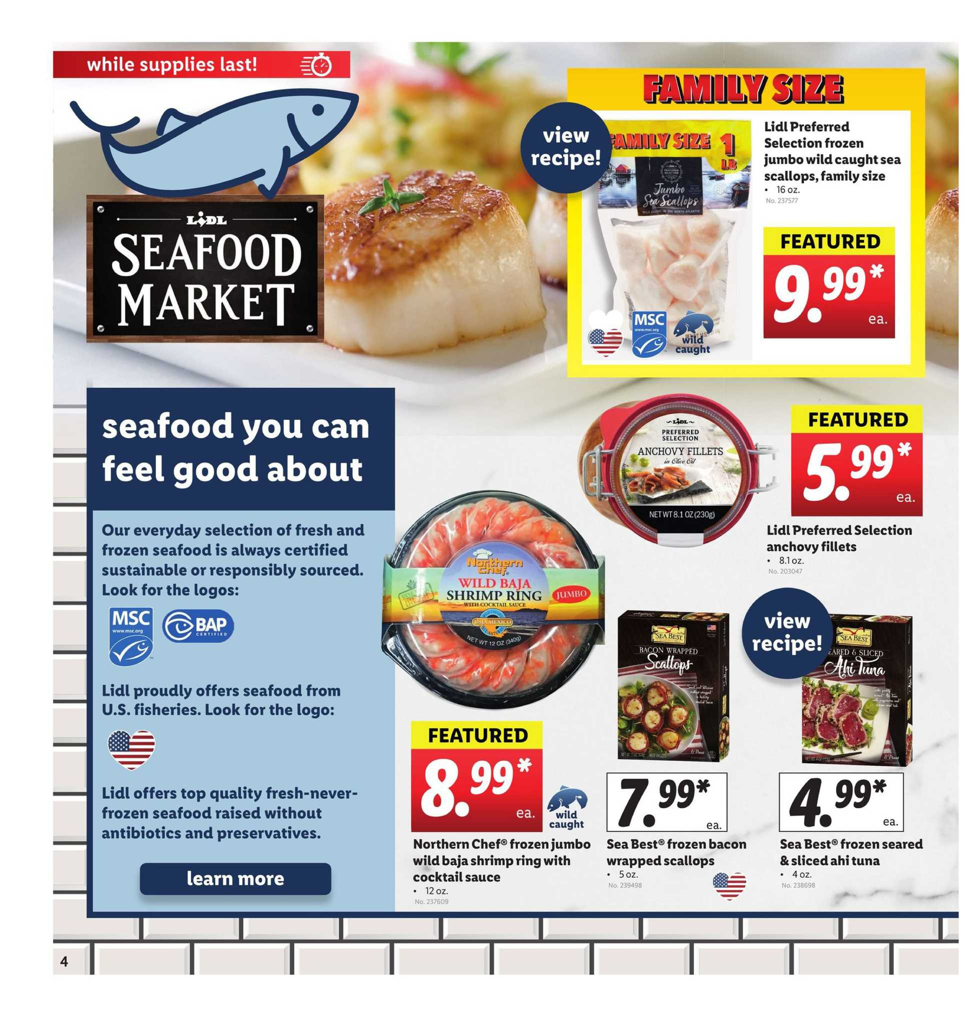 Lidl - deals are valid from 04/01/20 to 04/07/20 - page 4.