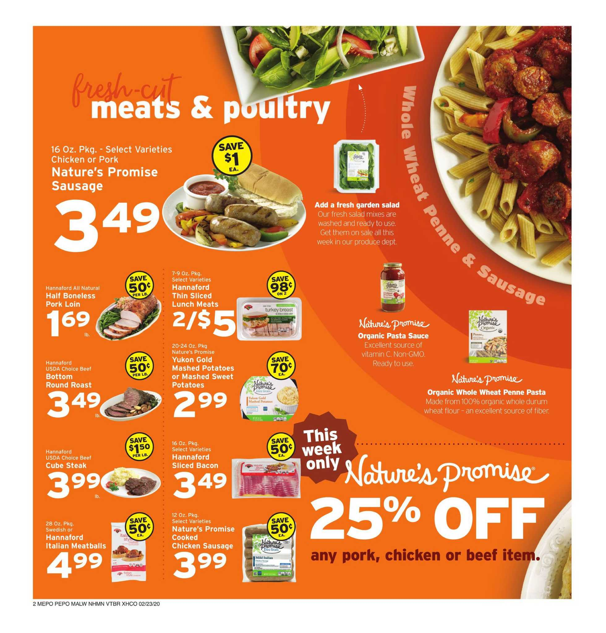 Hannaford - promo starting from 02/23/20 to 02/29/20 - page 2.