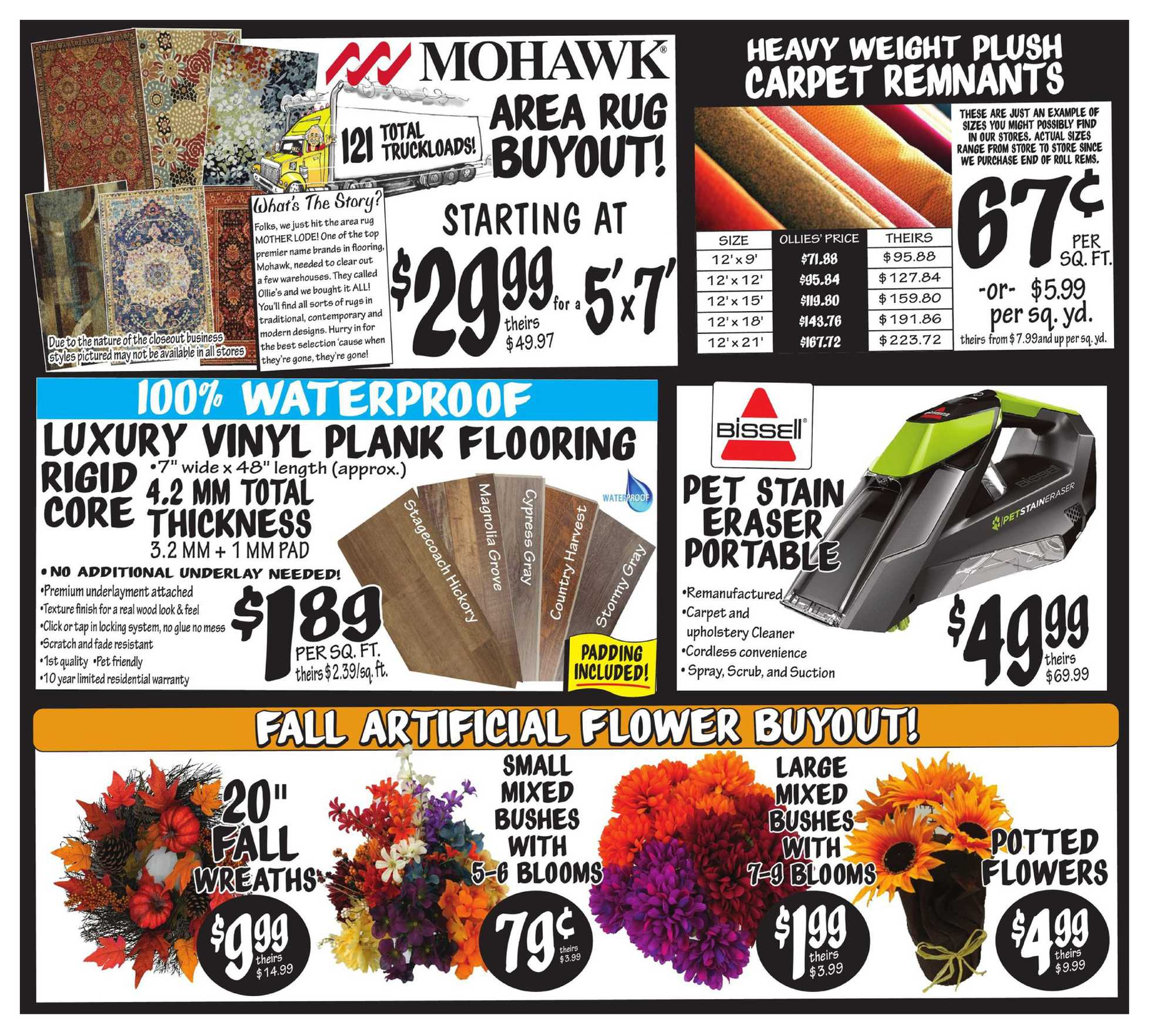 Ollie's Bargain Outlet - deals are valid from 08/27/20 to 09/02/20 - page 4.