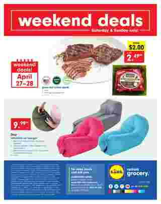 Lidl - promo starting from 04/24/19 to 04/30/19 - page 32.