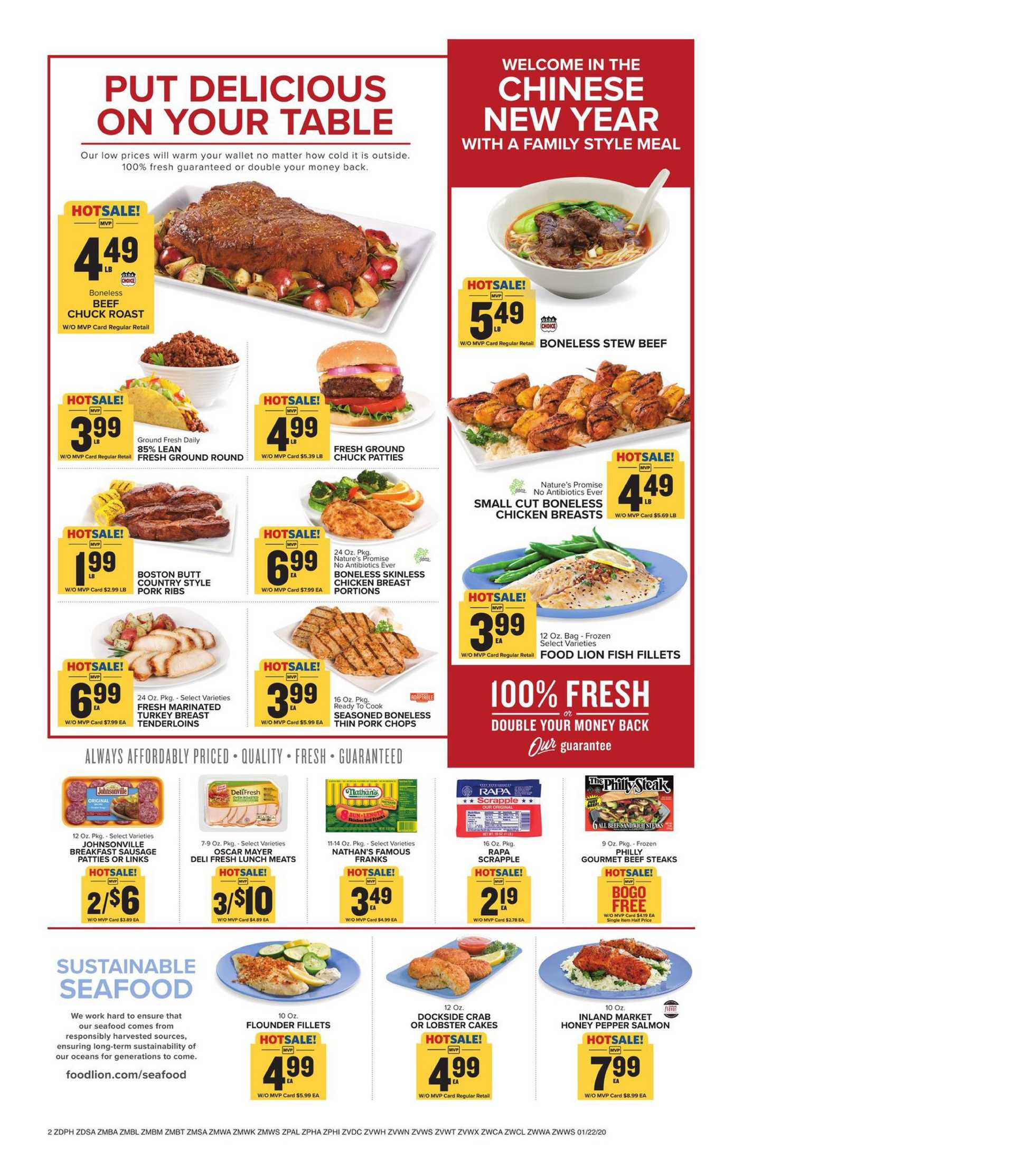 Food Lion - promo starting from 01/22/20 to 01/28/20 - page 2.