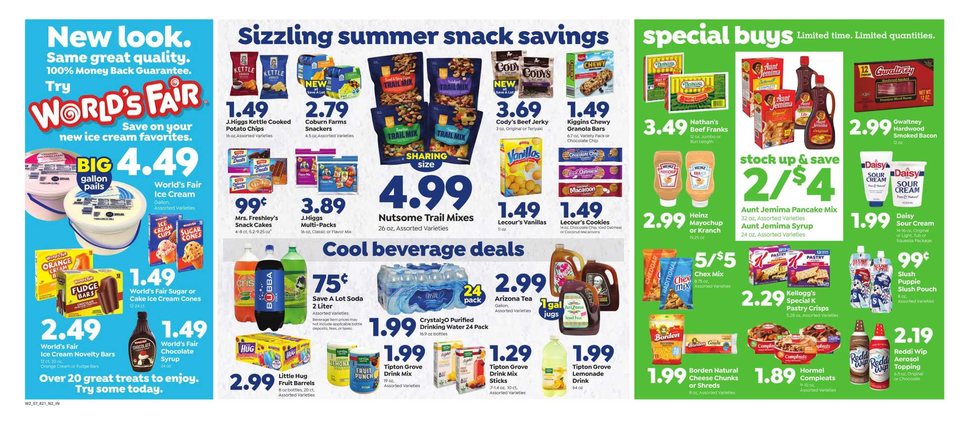 Save-A-Lot - deals are valid from 07/10/19 to 07/16/19 - page 2.