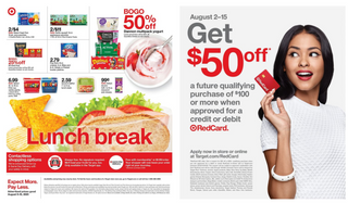 Target - deals are valid from 08/09/20 to 08/15/20 - page 21.