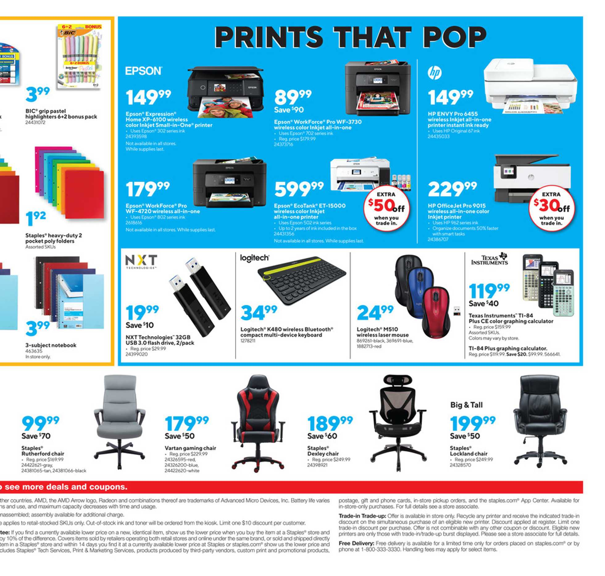 Staples - deals are valid from 09/06/20 to 09/12/20 - page 4.