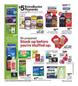 CVS - deals are valid from 01/12/20 to 01/18/20 - page 7.