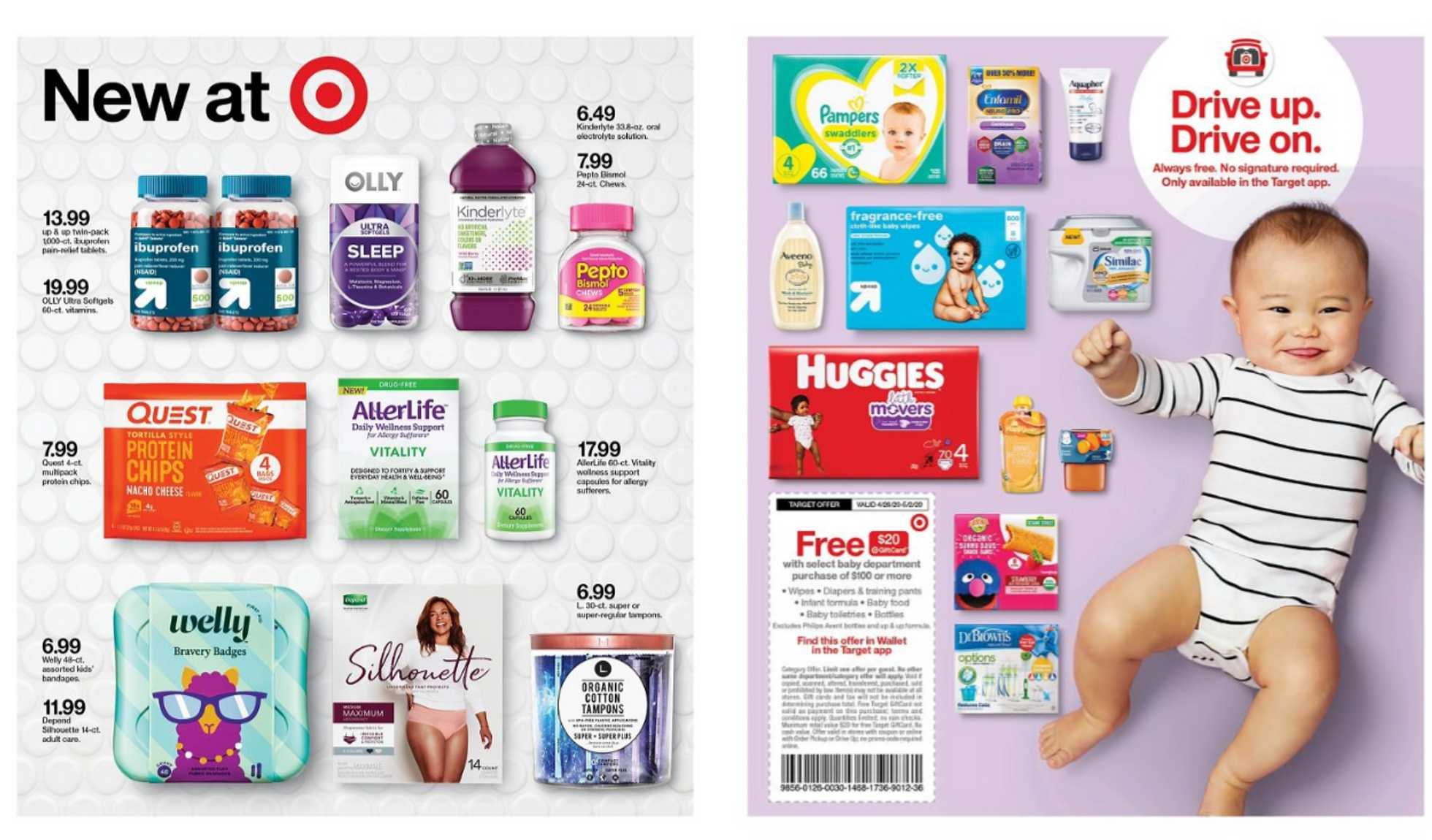 Target - deals are valid from 04/26/20 to 05/02/20 - page 4.