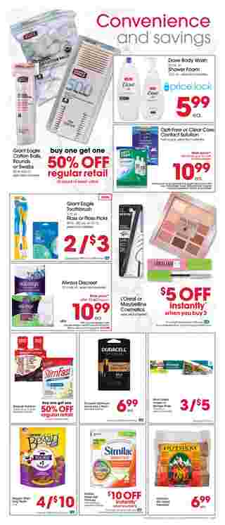Giant Eagle - deals are valid from 07/30/20 to 08/05/20 - page 5.
