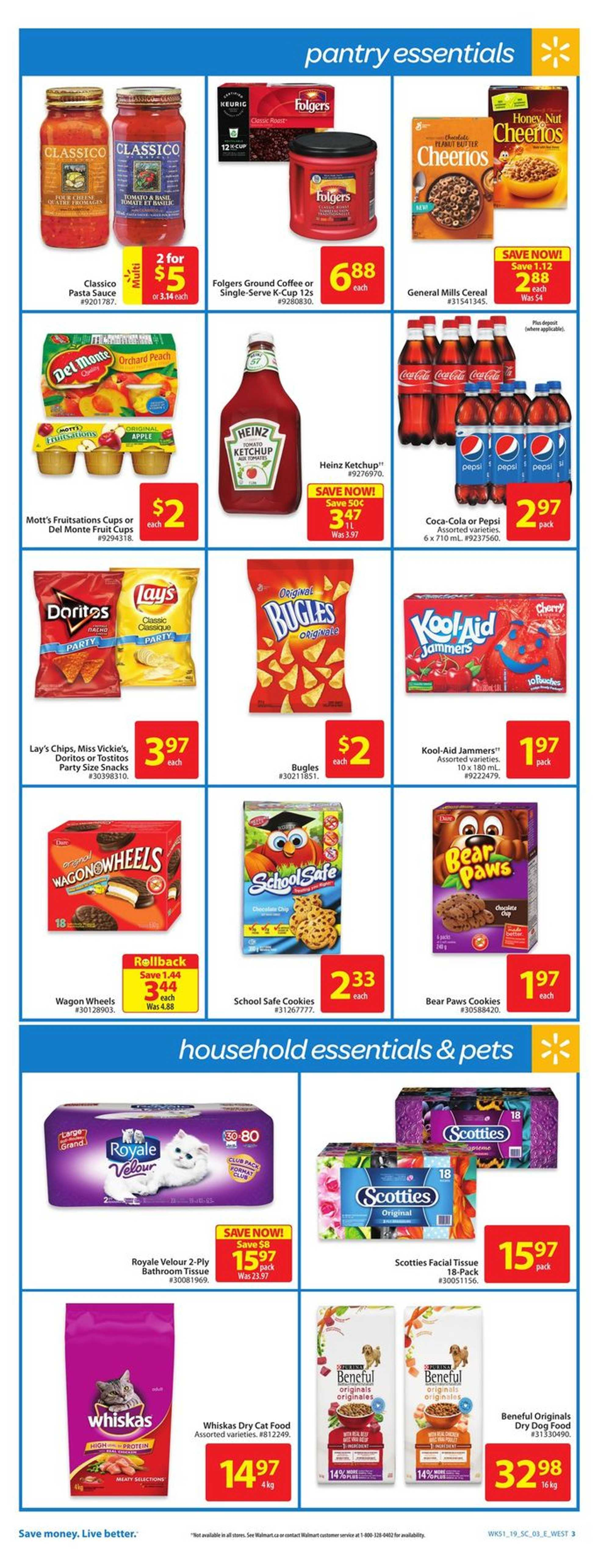 Walmart - deals are valid from 01/10/19 to 01/16/19 - page 3.
