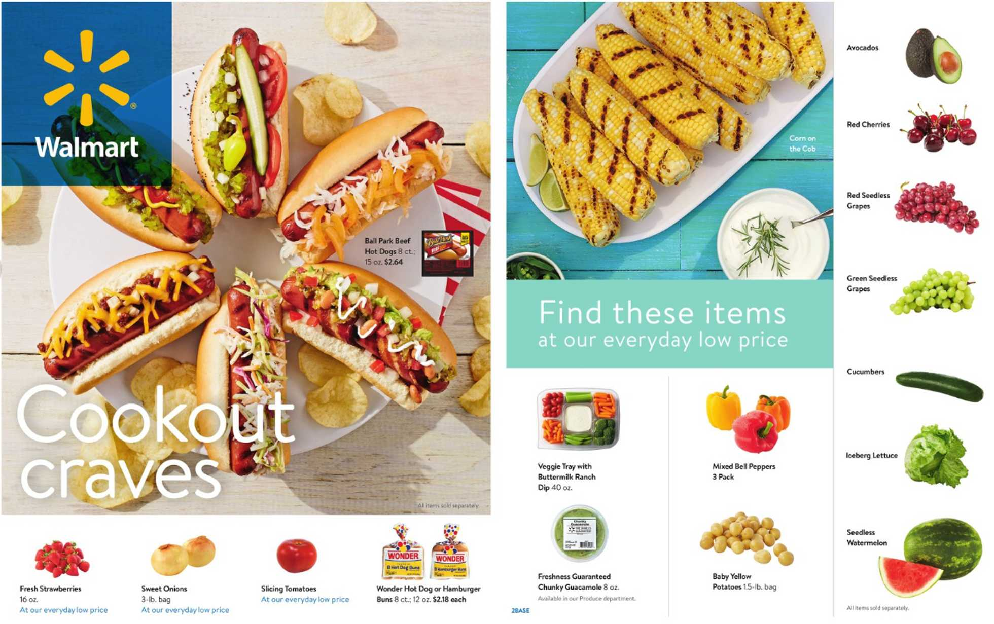 Walmart - deals are valid from 05/22/20 to 06/23/20 - page 1.
