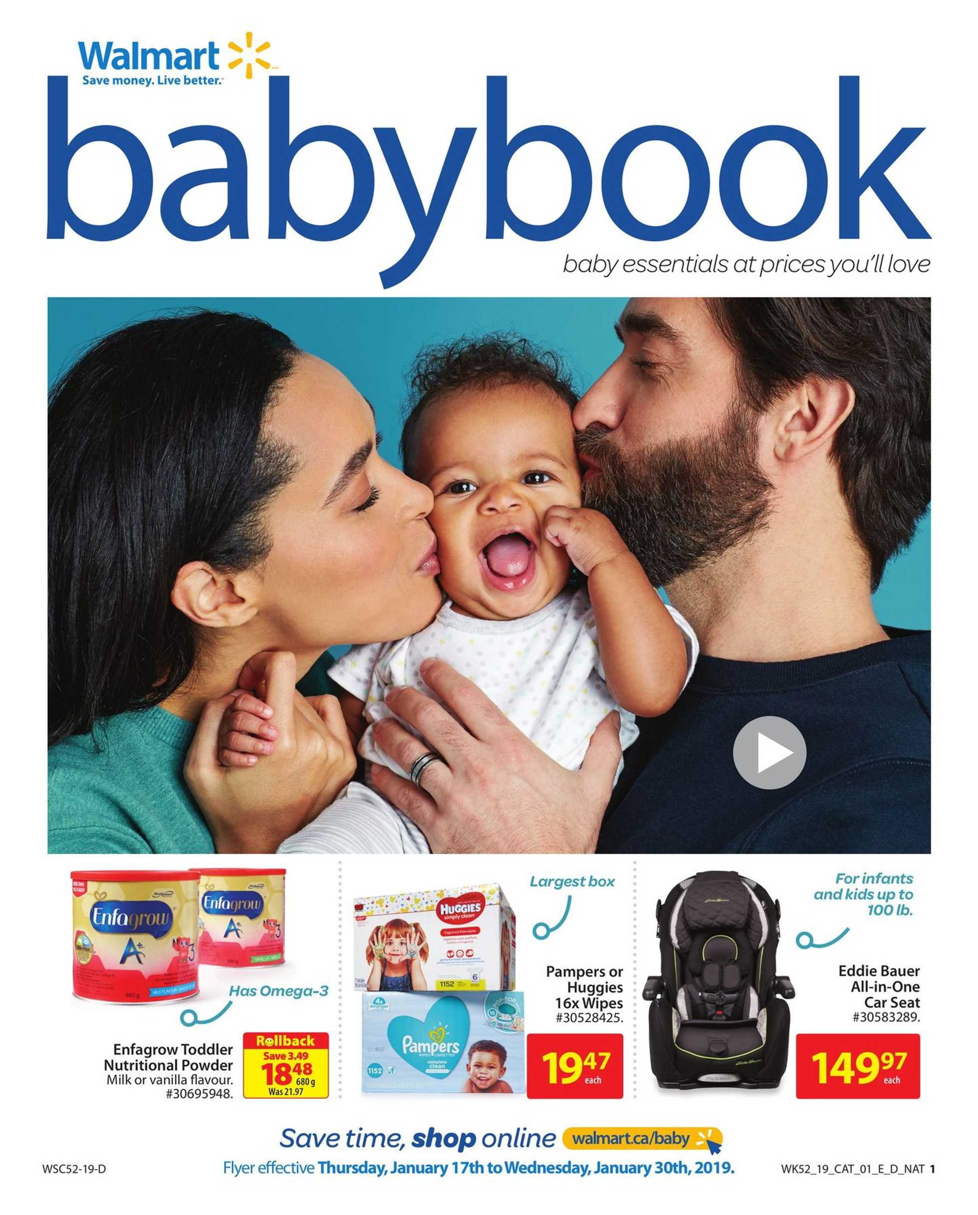 Walmart - deals are valid from 01/17/19 to 01/30/19 - page 1.