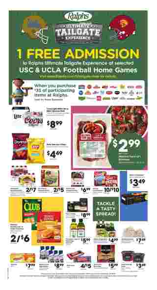 Ralphs - deals are valid from 11/20/19 to 11/28/19 - page 10.