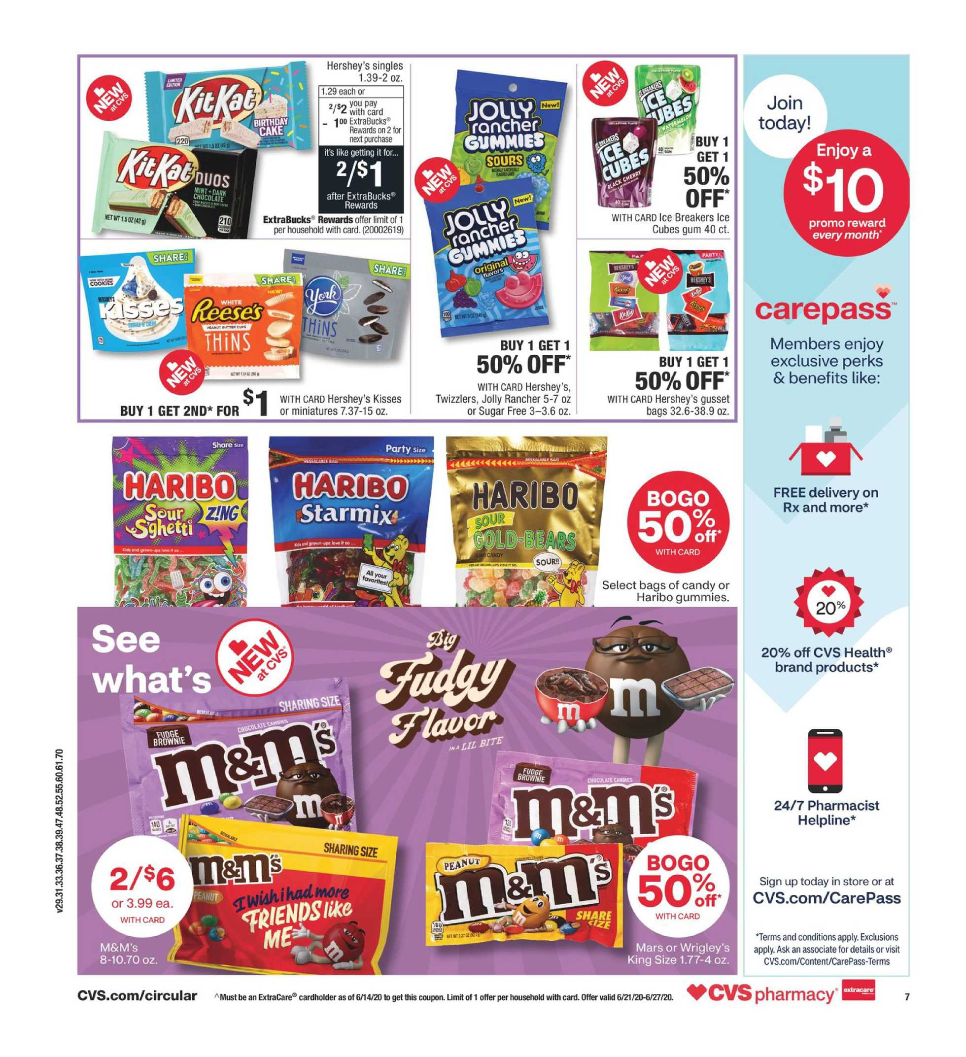 CVS - deals are valid from 06/21/20 to 06/27/20 - page 2.