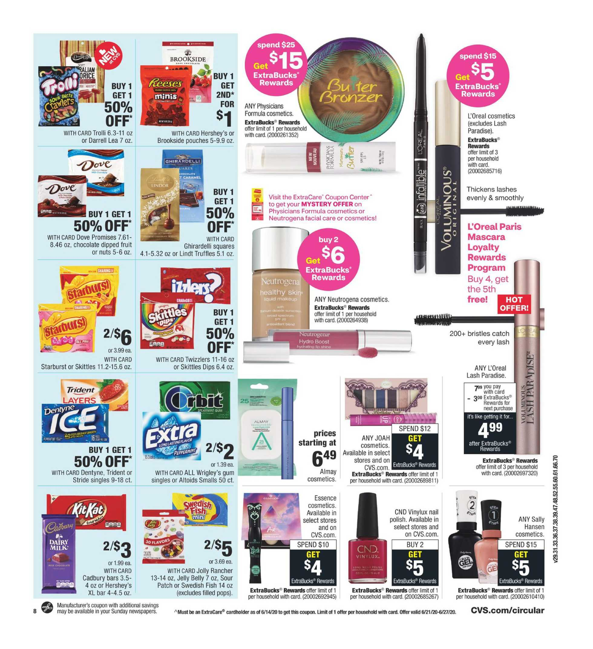CVS - deals are valid from 06/21/20 to 06/27/20 - page 3.