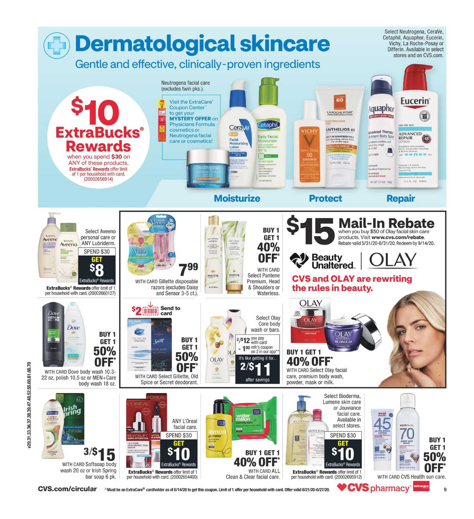 CVS - deals are valid from 06/21/20 to 06/27/20 - page 4.