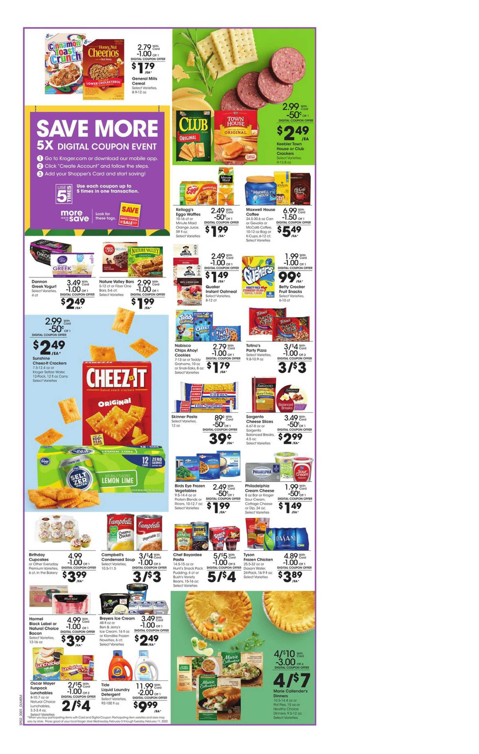 Kroger - deals are valid from 02/05/20 to 02/11/20 - page 3.