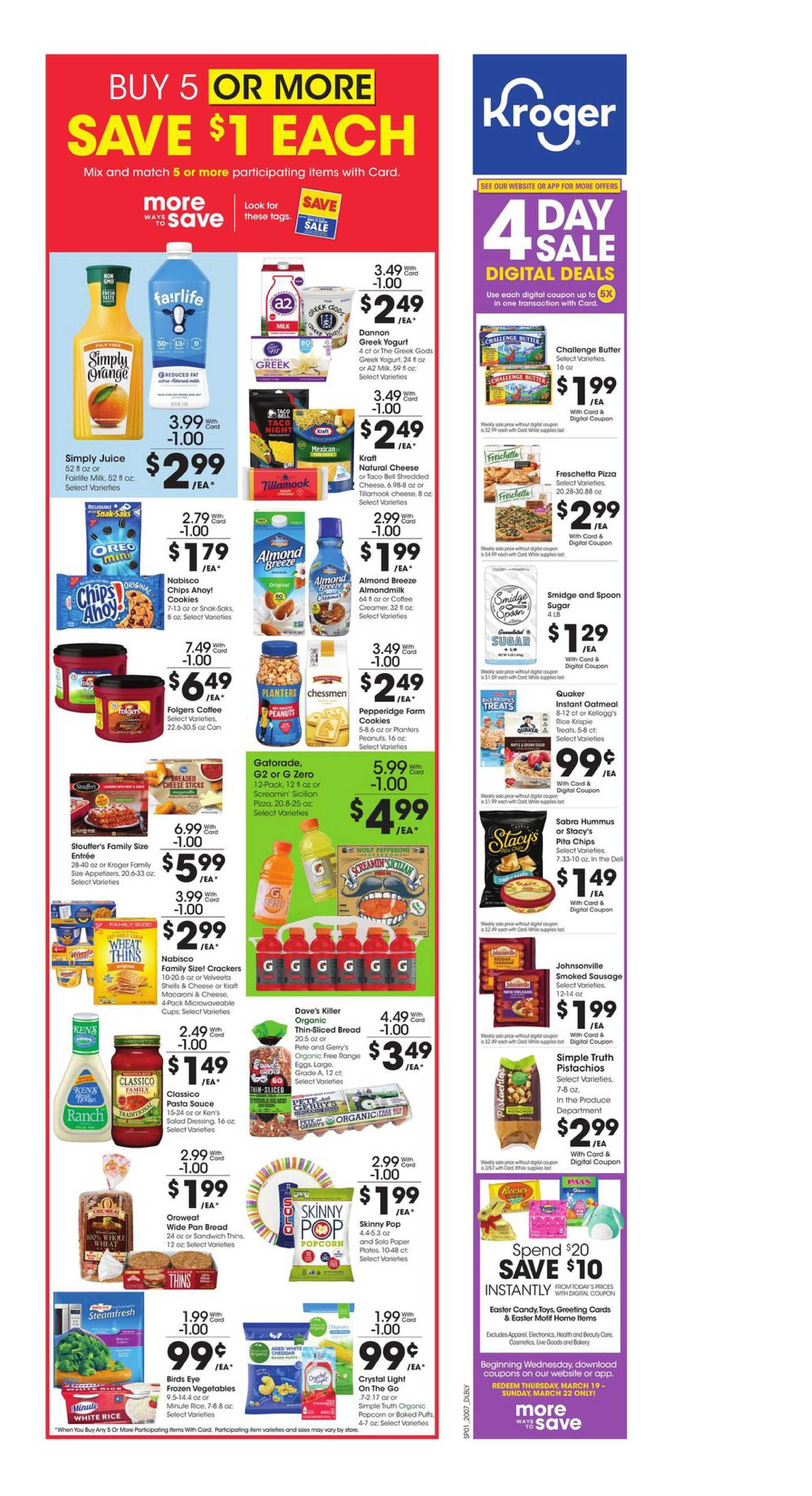 Kroger - deals are valid from 03/18/20 to 03/24/20 - page 2.