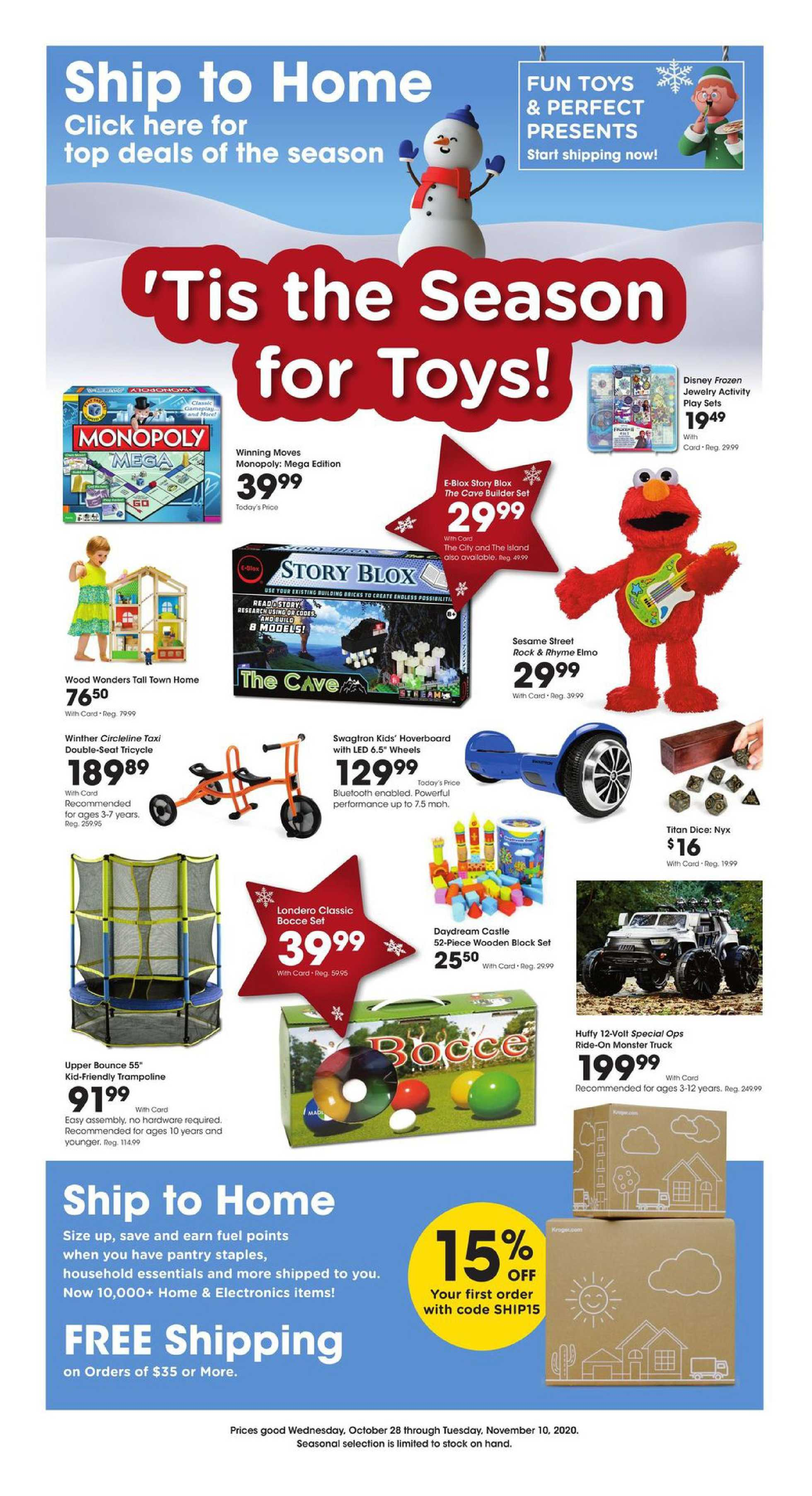 Kroger - deals are valid from 10/28/20 to 11/10/20 - page 2.