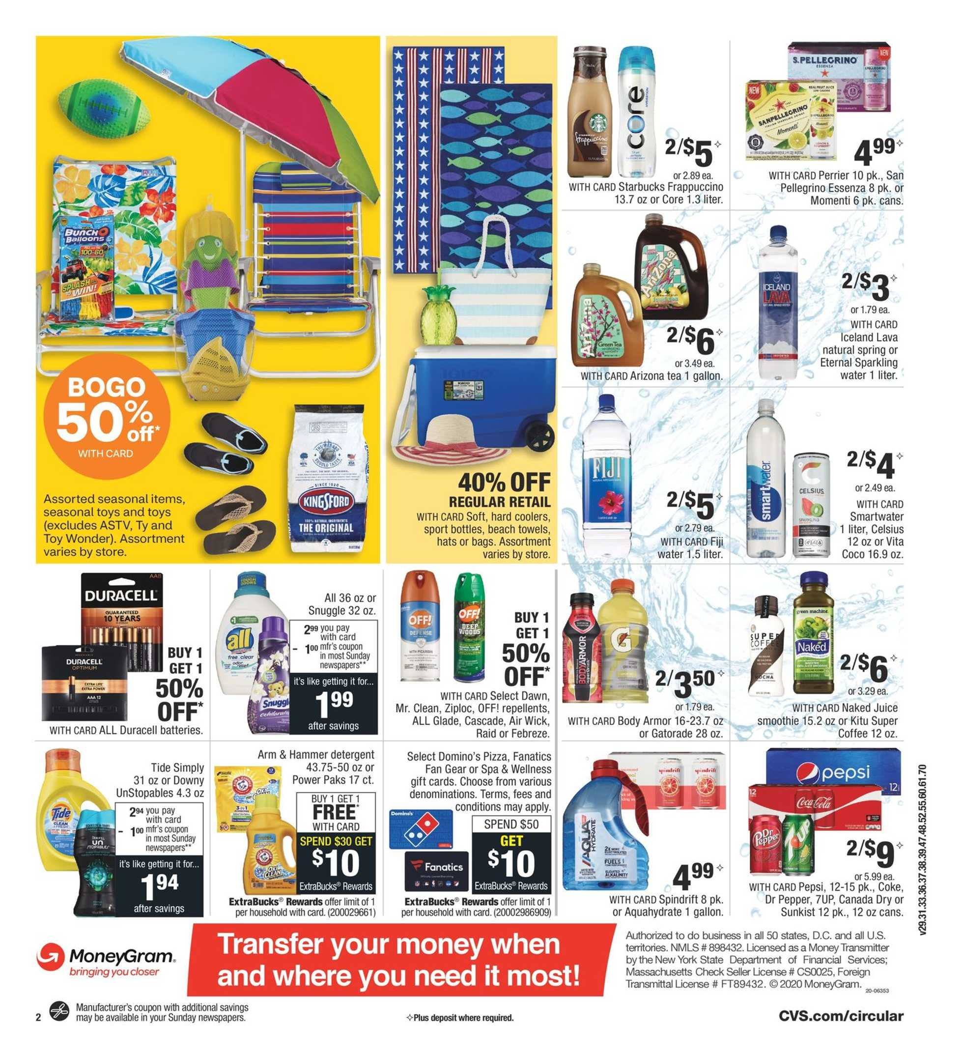 CVS - deals are valid from 07/12/20 to 07/18/20 - page 3.