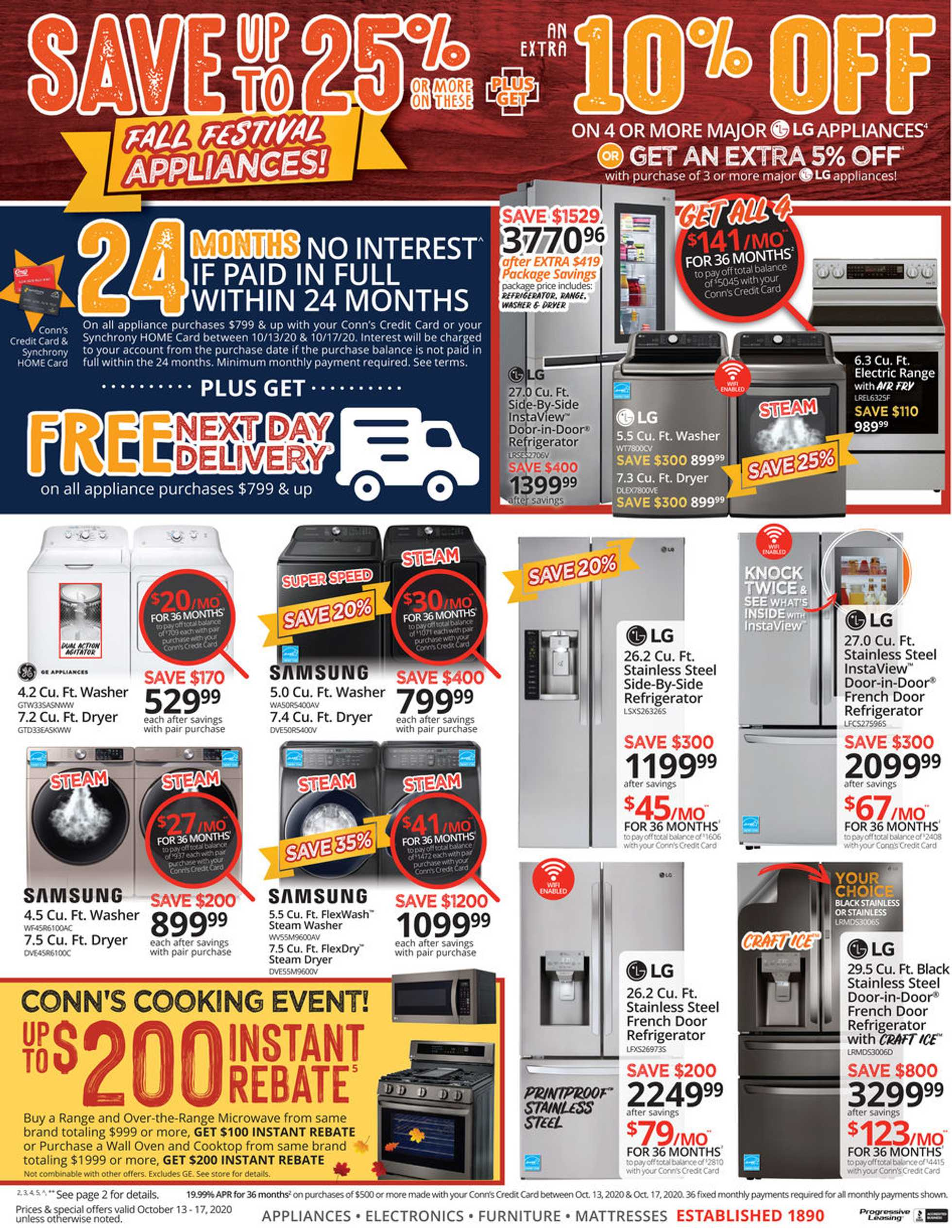 Conn's HomePlus - deals are valid from 10/13/20 to 10/17/20 - page 4.