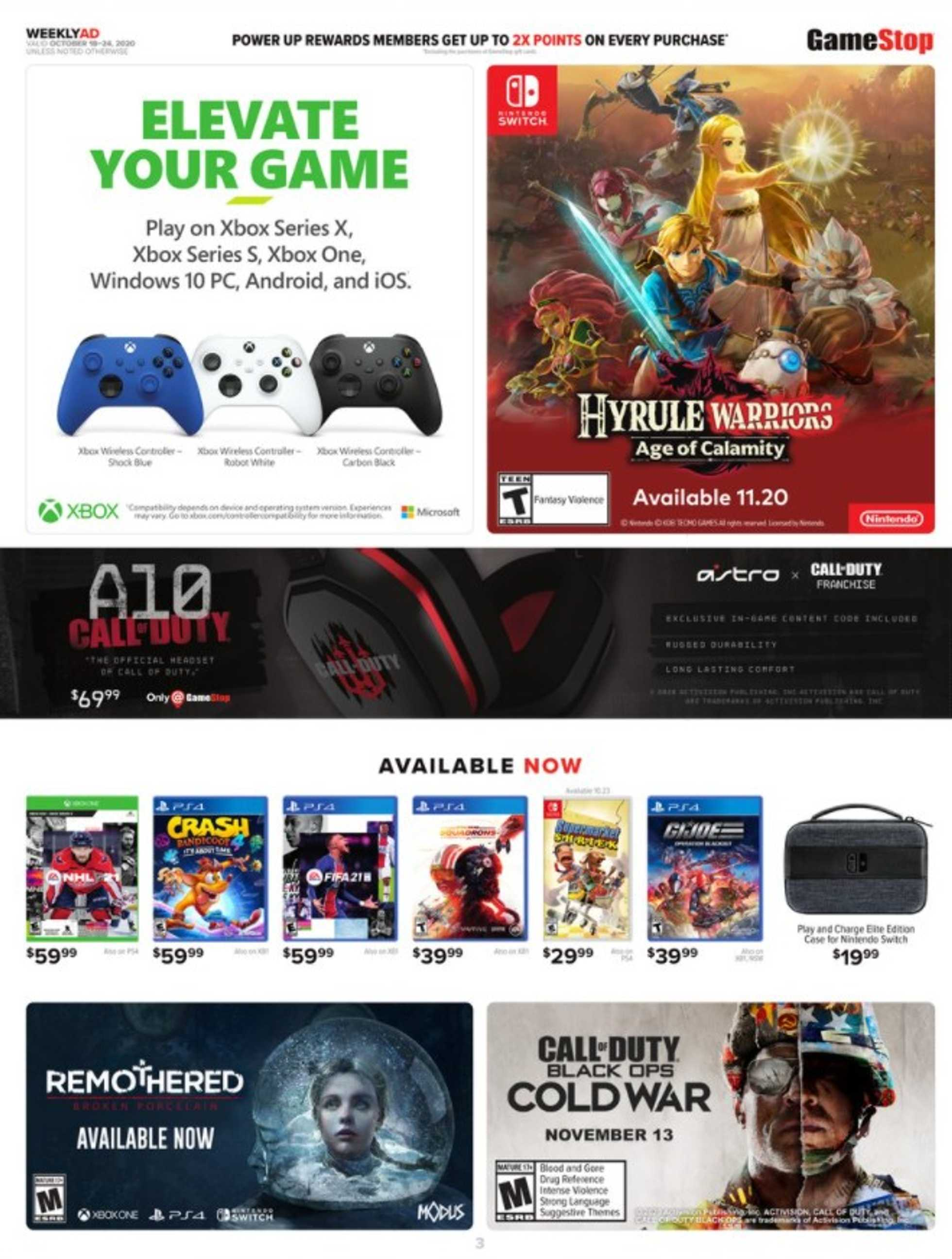 GameStop - deals are valid from 10/18/20 to 10/24/20 - page 2.