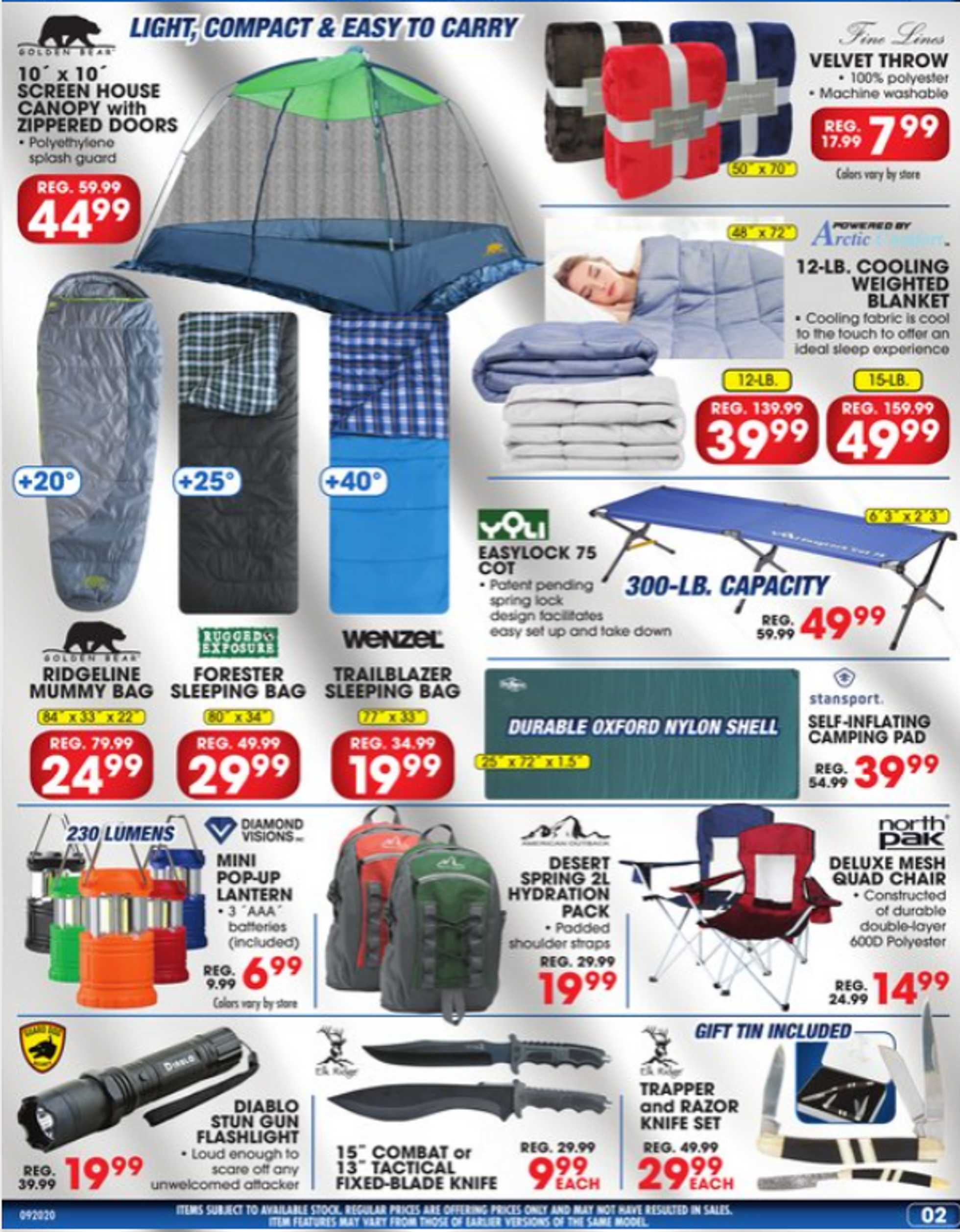 Big 5 Sporting Goods - deals are valid from 09/20/20 to 09/27/20 - page 3.